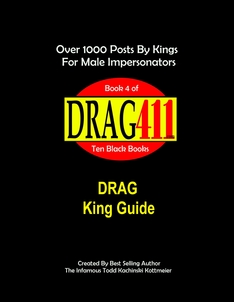 drag king guide, official drag king handbook, original drag king guide